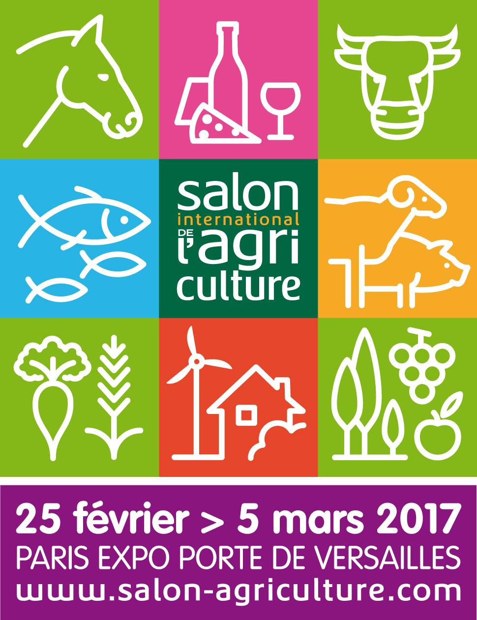 Logo du salon de l'agriculture 2017