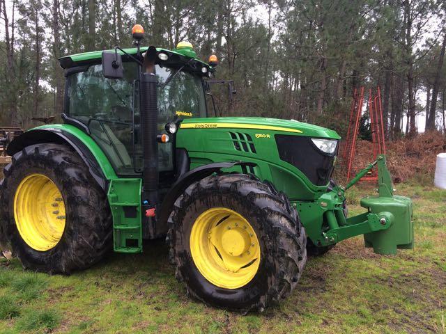 tracteur john deere 6150 r - 150 cv