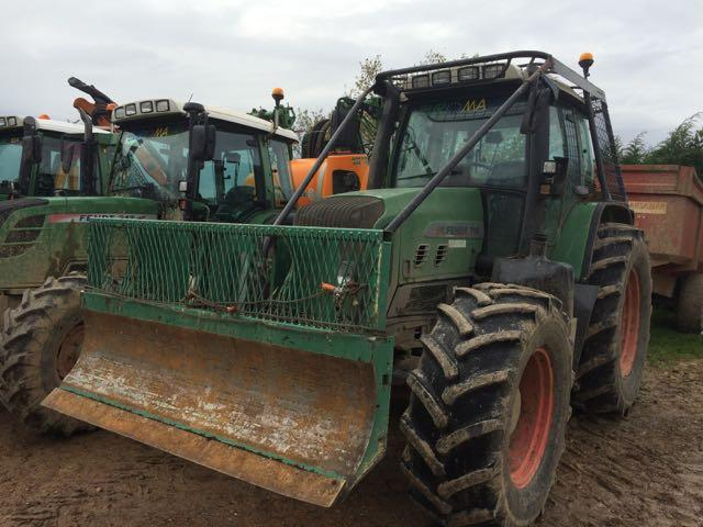 location tracteur forestier fendt 160 cv