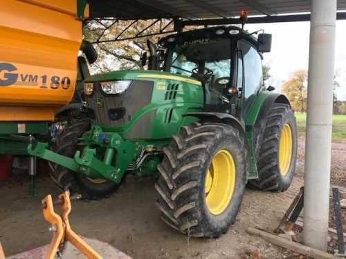 location tracteur agricole john deere 150 cv